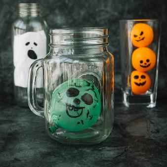 Decorações artesanais para o halloween