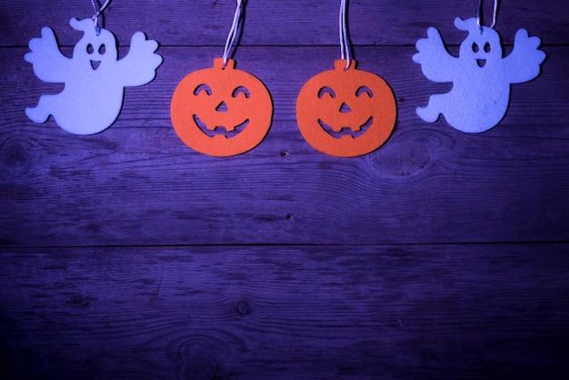 Decorações da festa de halloween