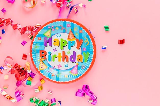 Decorações de aniversário em rosa