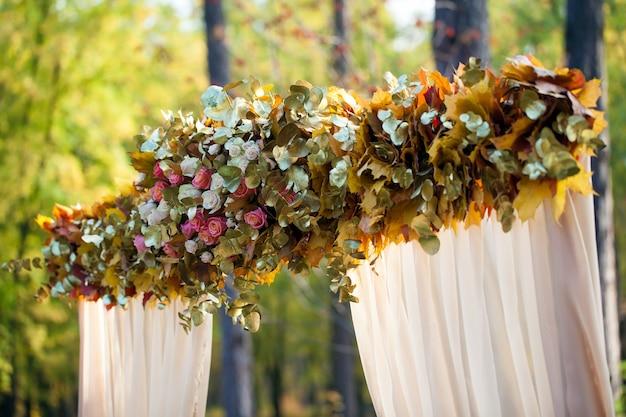Decorações de cerimônia de casamento