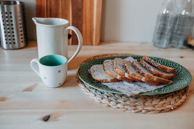 Decorações de cozinha escandinavas.