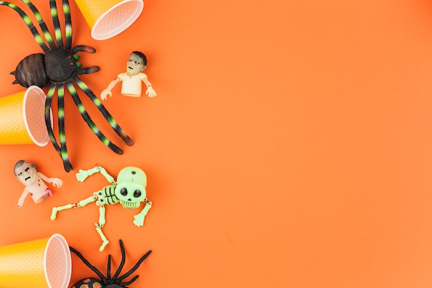 Decorações de halloween assustador