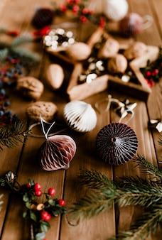 Decorações de natal e bugigangas