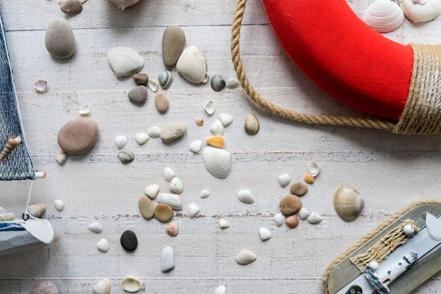 Decorações do tema do mar da sala de crianças