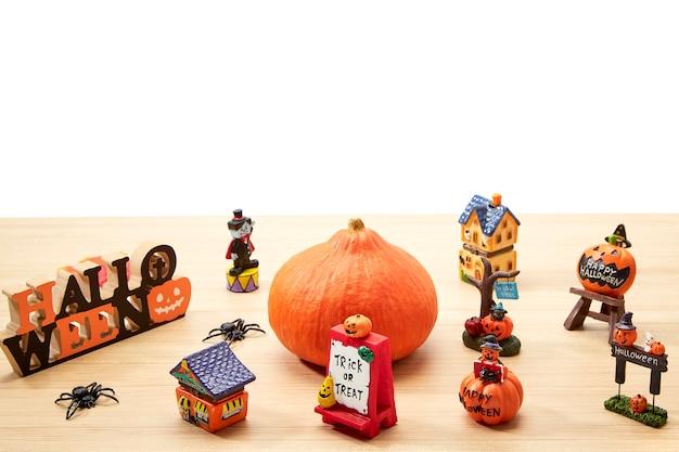 Decorações para a época festiva feriado do dia das bruxas