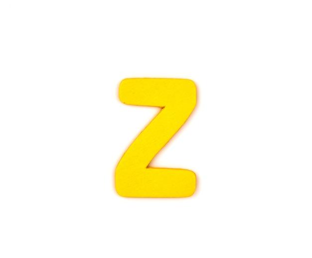 Decorativa letra z