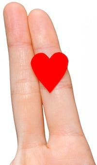 Dedo casal apaixonado