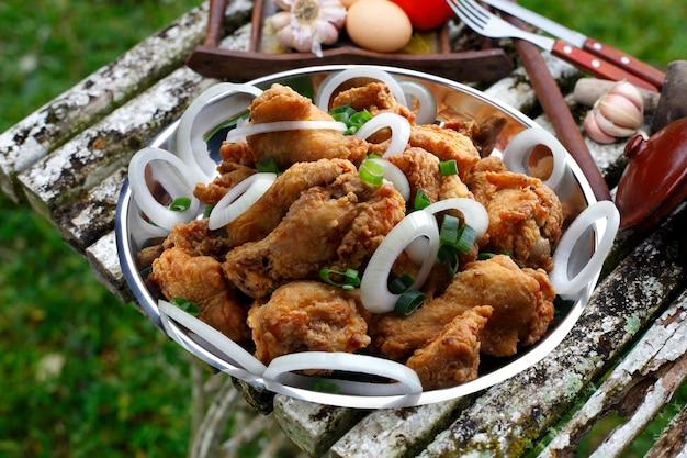 Dedos de galinha