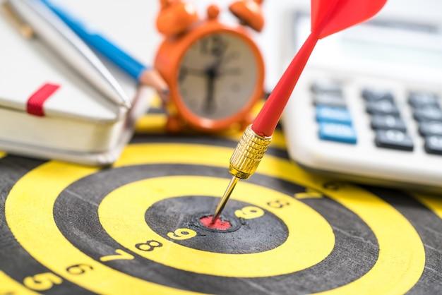 Definição de metas, metas, objetivos e conceitos de planejamento.