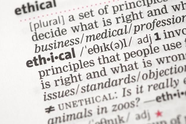 Definição ética