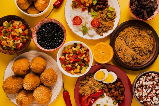 Deliciosa comida brasileira simples