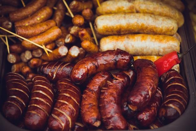 Deliciosa comida de rua na europa