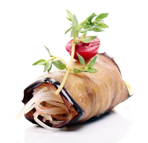 Deliciosa comida gourmet