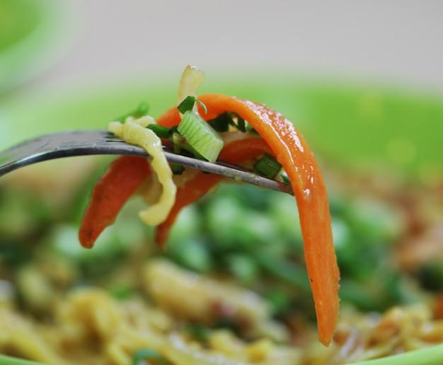 Deliciosa comida tailandesa