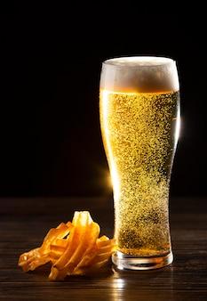 Deliciosa composição de cerveja americana