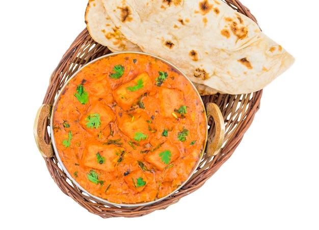 Deliciosa culinária indiana paneer tikka masala