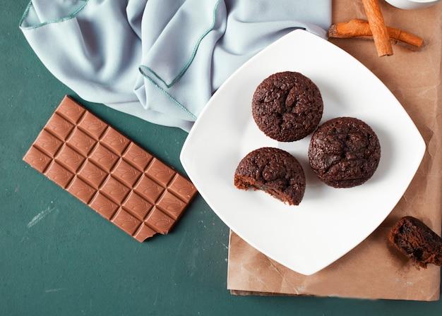 Deliciosa sobremesa de chocolate