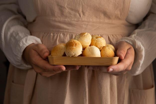 Deliciosa variedade de pão de queijo