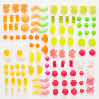 Deliciosas gummies de frutas