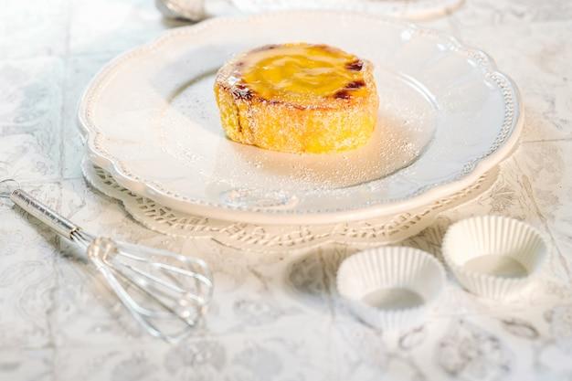 Delicioso bolo de rolo de portugal