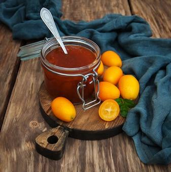 Delicioso geléia de kumquat