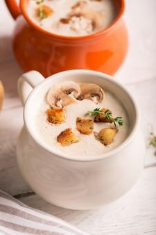 Delicioso purê de sopa