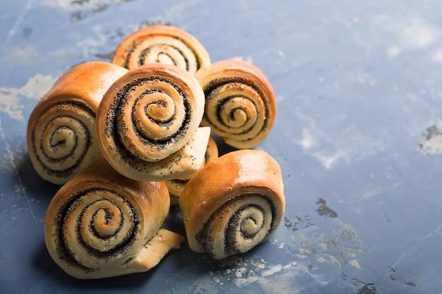 Deliciosos pães torcidos