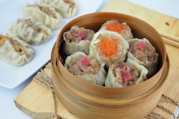 Deliciosos sabores chineses de dim sum