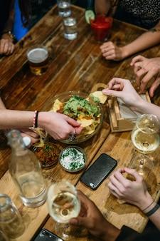 Delicius apetizer para compartilhar com os amigos