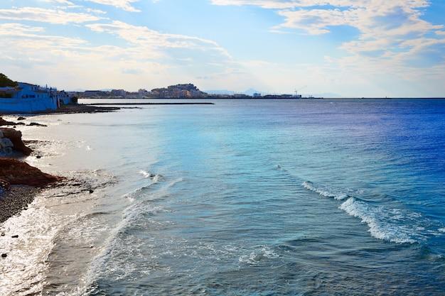 Denia praia las rotas no verão em alicante