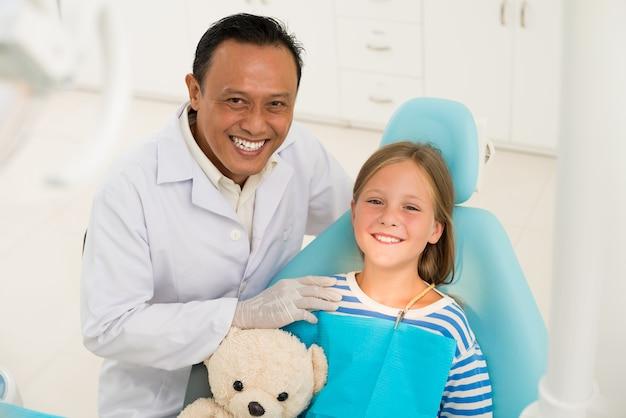 Dentista e paciente