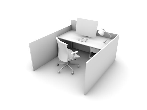 Departamento de trabalho isolado