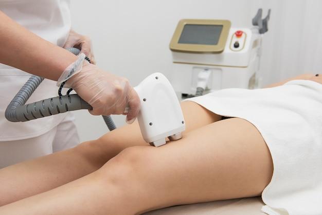 Depilação a laser das pernas