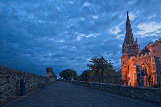 Derry crepúsculo hdr trilha