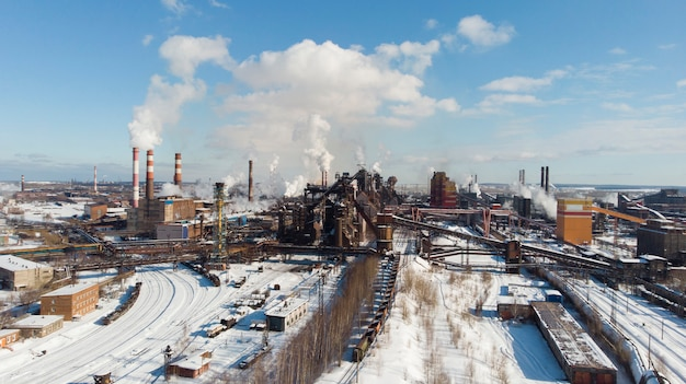 Desastre ambiental. ambiente pobre fumaça