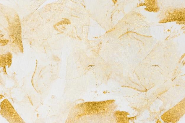 Desenho abstrato aquarela dourado