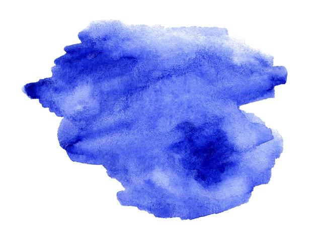 Desenho aquarela azul para o seu projeto