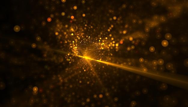 Desenho de fundo dourado brilhante