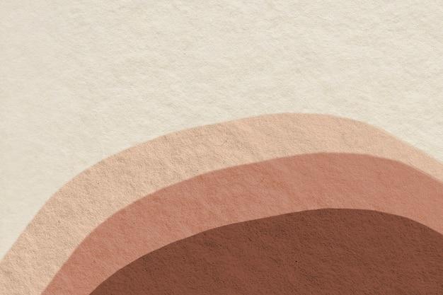 Desenho de tom de terra abstrato