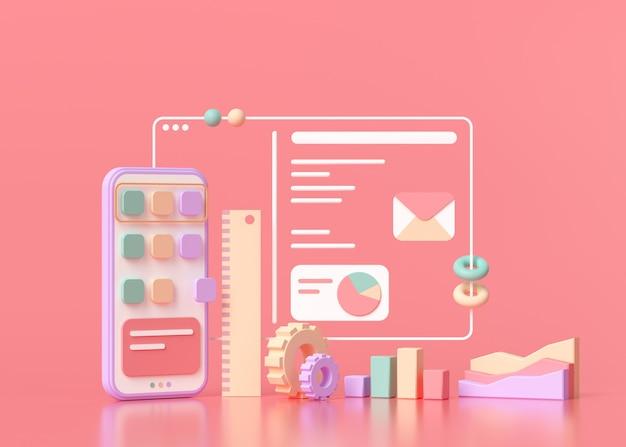 Desenvolvimento de aplicativos e design de ui-ux