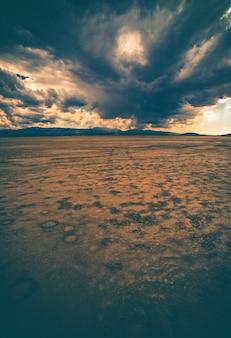 Desert badlands