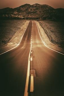 Desert road to nowhere