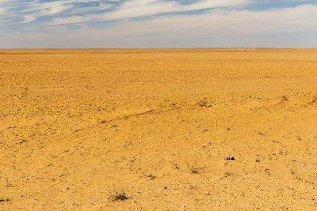 Deserto de areia no cazaquistão