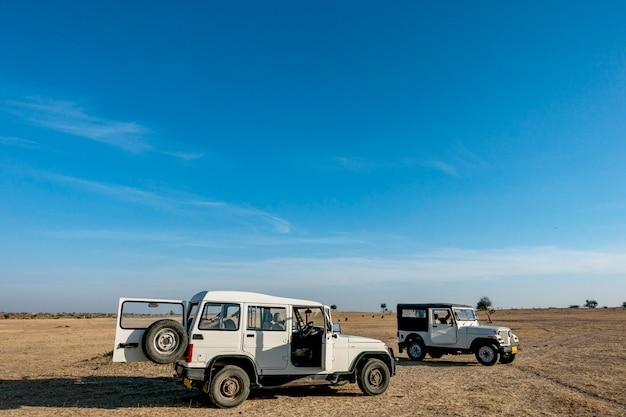 Deserto de thar no rajastão na índia
