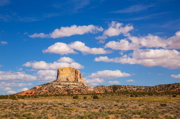 Deserto do arizona na us 89 random square butte