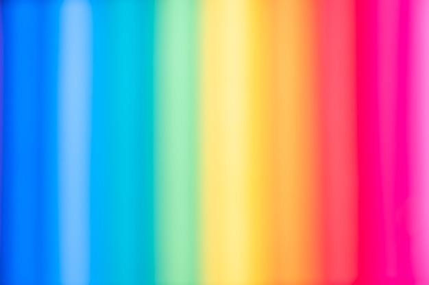 Desfocar fundo de textura de cor de linha de arco-íris