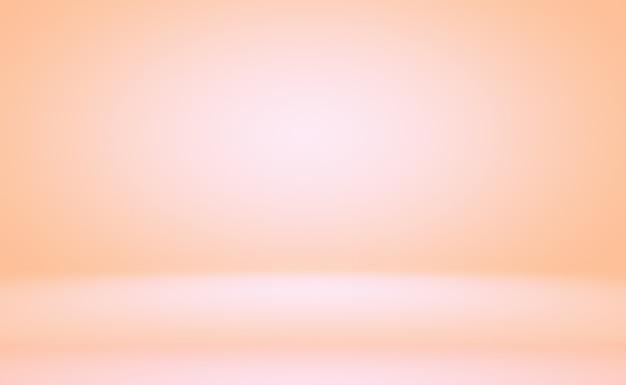 Desfoque abstrato de lindo tom pastel de cor rosa pêssego fundo de tom quente