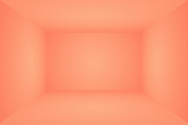 Desfoque abstrato de lindo tom pastel de cor rosa pêssego tom quente de fundo para design como banner, apresentação de slides ou outros
