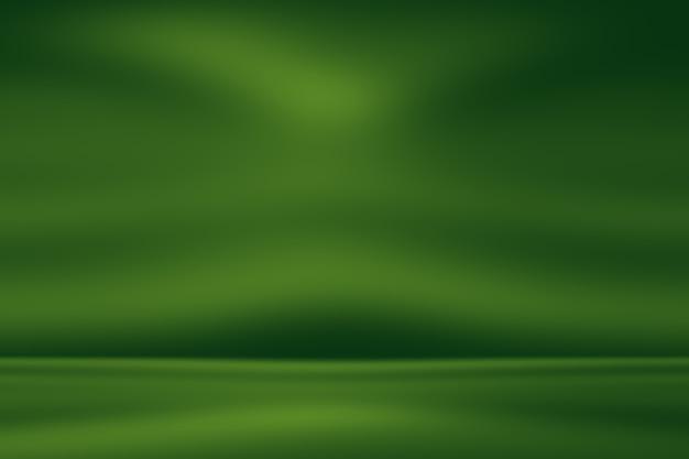 Desfoque abstrato vazio fundo gradiente verde