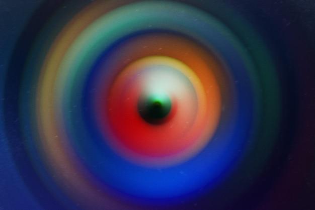 Desfoque de movimento radial, fundo colorido abstrato